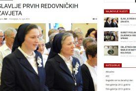 Prvi redovnički zavjeti kod Klanjateljica Krvi Kristove