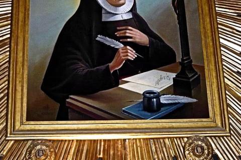 KLANJATELJICE KRVI KRISTOVE i sv. Marija De Mattias