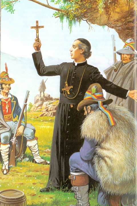 """Značenje """"misija"""" i """"duhovnih vježbi"""" za sv. Gašpara del Bufala"""