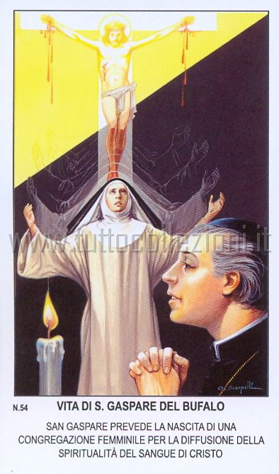 Gašparov rast i razvoj u duhovnosti Predragocjene Krvi