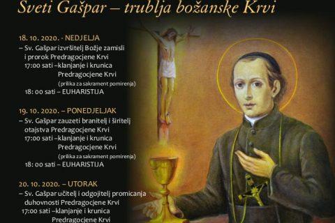 Trodnevnica uoči svetkovine sv. Gašpara del Bufala