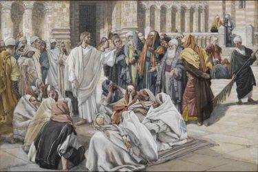 Isus ulazi u Sinagogu i naučava…