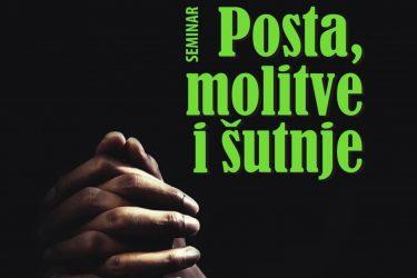 Seminar posta, molitve i šutnje: 22.-27.06.
